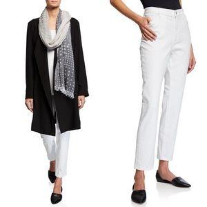 Eileen Fisher Stretch High-Waist Skinny Jeans